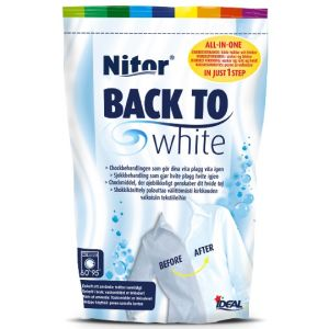Back to white