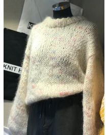 The fluffy sweater